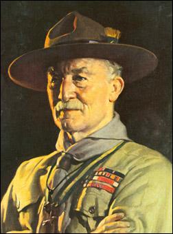 Lord Baden Powell, fondateur du scoutisme